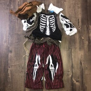 Toddler Pirate Costume Like New